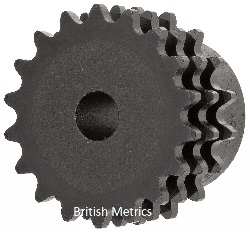 #3035 Roller Chain Triple Sprocket