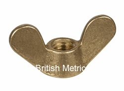 Brass Wing Nut to DIN 315 M10 x 1.5