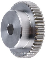 Metric Hubbed Timing Gear M2.5 44tooth